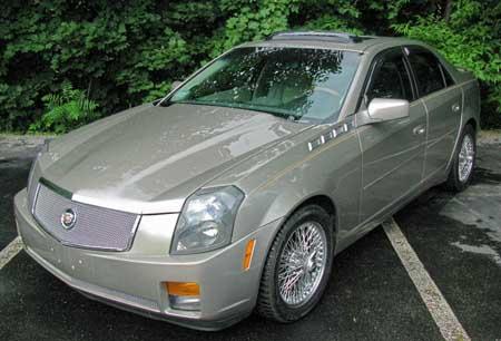 Cadillac Cts Hood